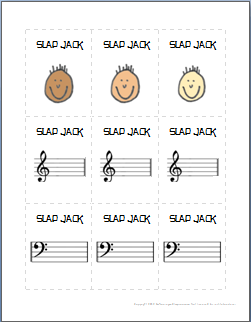 Slapjack: Free Music Game for Young Children