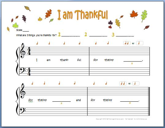 thanksgiving piano composition for kids ear training and improv. Black Bedroom Furniture Sets. Home Design Ideas