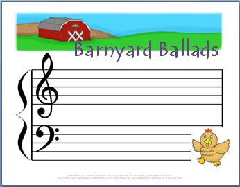 Ear Training Game: Barnyard Ballads