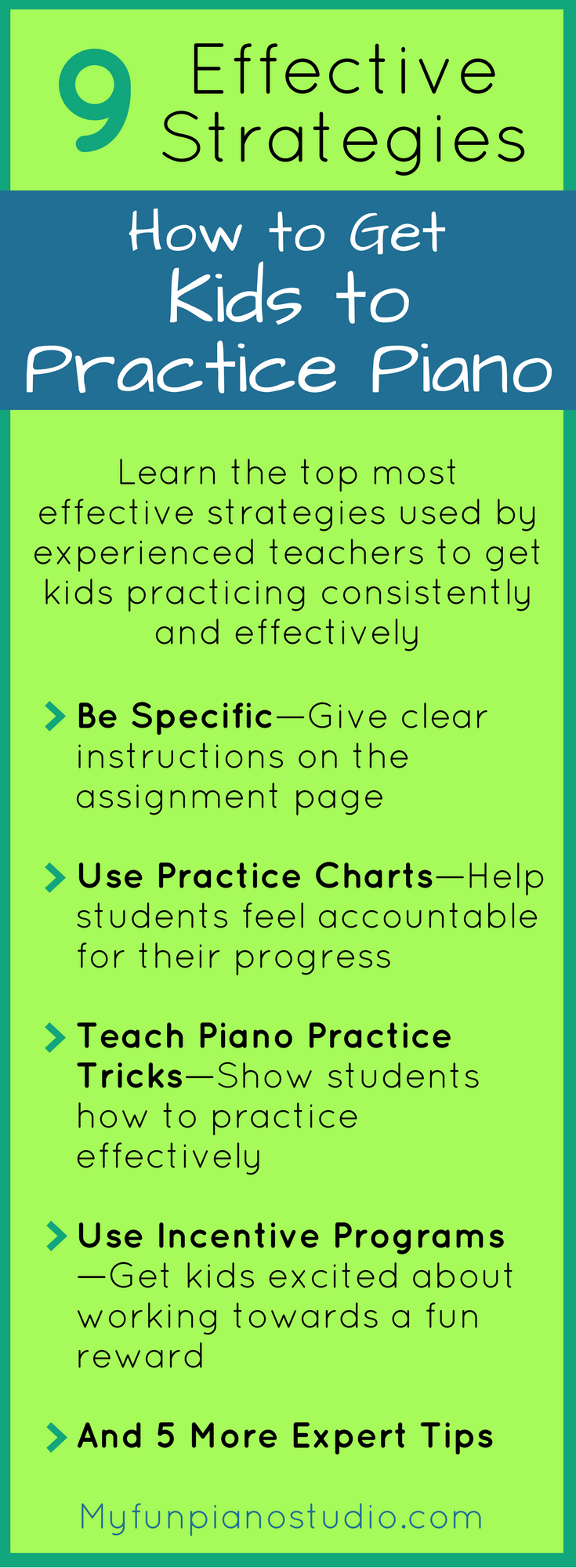 How to Get Kids to Practice Piano