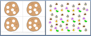 Cookie decorating melodic dictation game