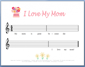 mother's day song for kids