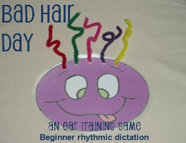 Bad Hair Day: An Ear Training Game