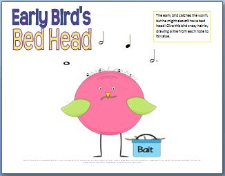 Early Bird's Bed Head Rhythm Notes