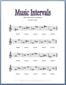 Worksheet Piano Theory Worksheets piano theory worksheets 15 free printables fun for kids music interval identification