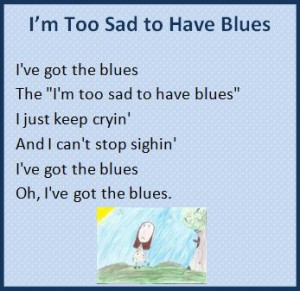 Piano blues for kids