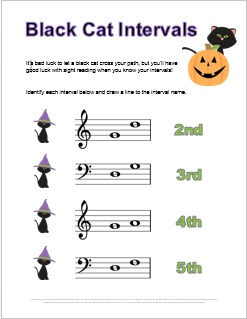 music_intervals_halloween_worksheet