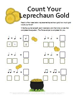Rhythm_Worksheet_Count_Your_Leprechaun_Gold
