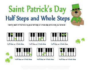 st patrick 39 s day music theory worksheets 9 free printables. Black Bedroom Furniture Sets. Home Design Ideas