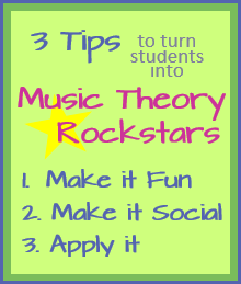 3 Tips to Turn Students into Music Theory Rockstars