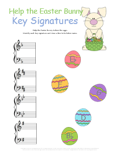 Worksheets Music Worksheets Free music theory worksheets 50 free printables worksheet easter key signatures
