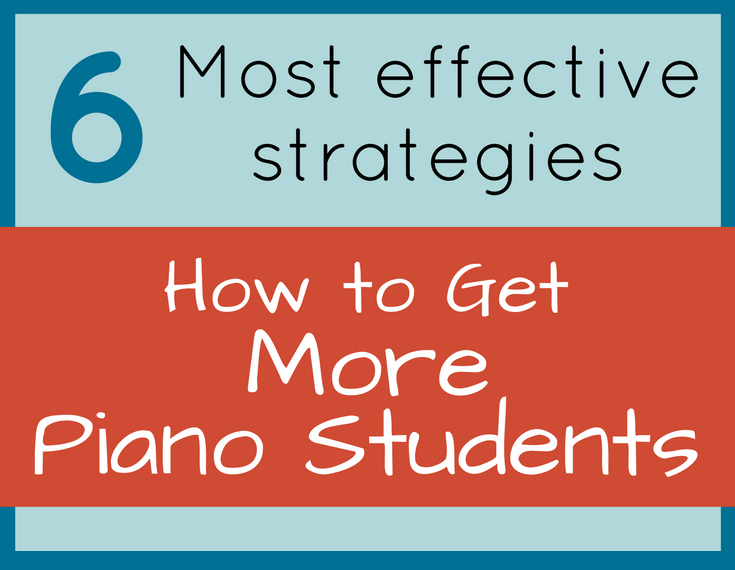 How to Get More Piano Students