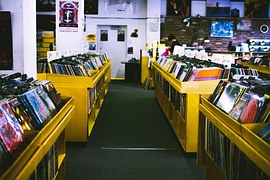Music stores tell clients about your piano studio