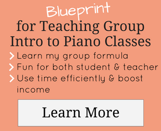 Blueprint for Teaching Group Intro to Piano Classes