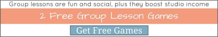 2 Group Piano Lesson Games
