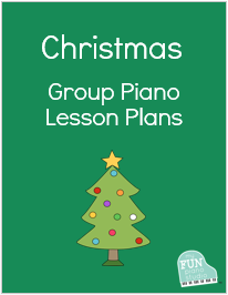 Christmas group piano lesson plans