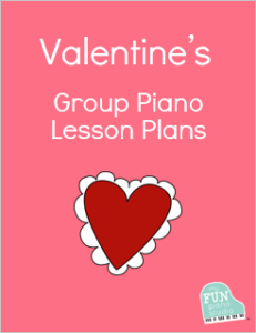 Valentine's Day group piano lesson plans
