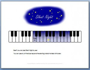 How to Play Silent Night by Ear