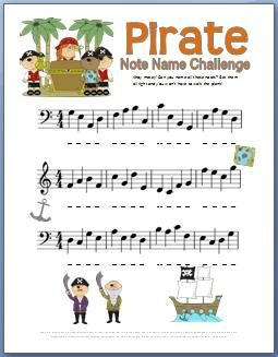 photo about What's Your Pirate Name Printable titled Tunes Basic principle Worksheets - 50+ Cost-free Printables