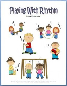 Rhythm worksheets you can print for free