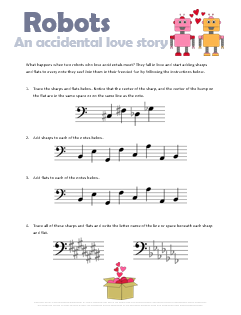 Free_Valentines_Music_Worksheet_Robots_Accidental_Love_Story
