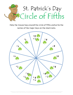 photo relating to St Patrick Day Printable Activities referred to as St Patricks Working day New music Basic principle Worksheets - 9 Absolutely free Printables