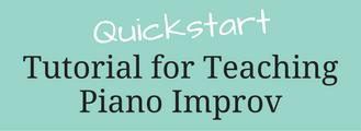 Quickstart Piano Improv Header