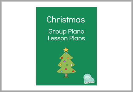 Group Piano Lesson Plans for Christmas